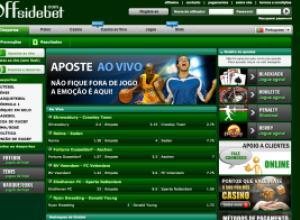Screenshot da offsidebet