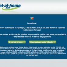 bet-at-home fechada
